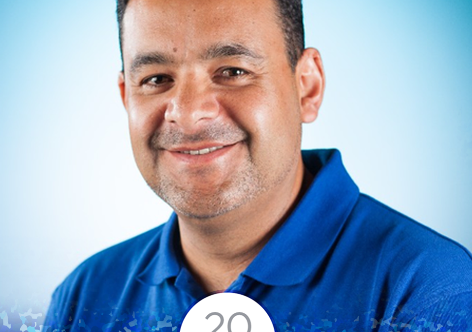 Congratulations to Pedro for 20 Years with EB!